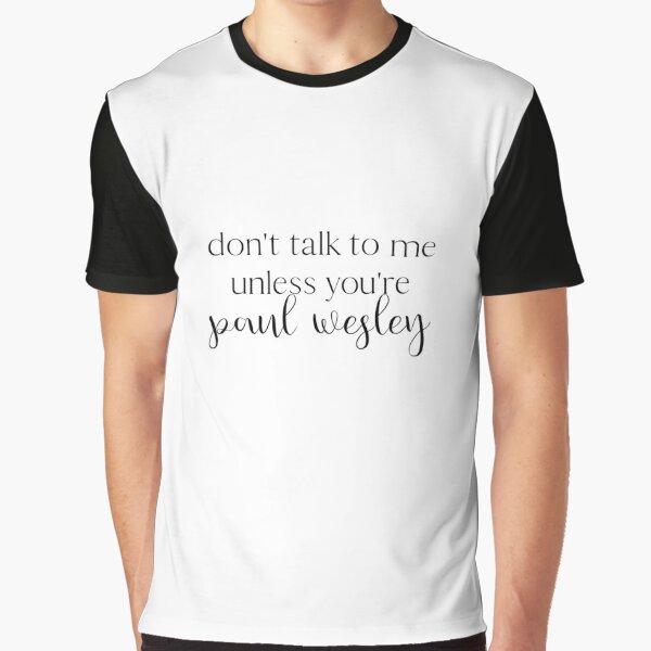 Paul Wesley Camiseta gráfica