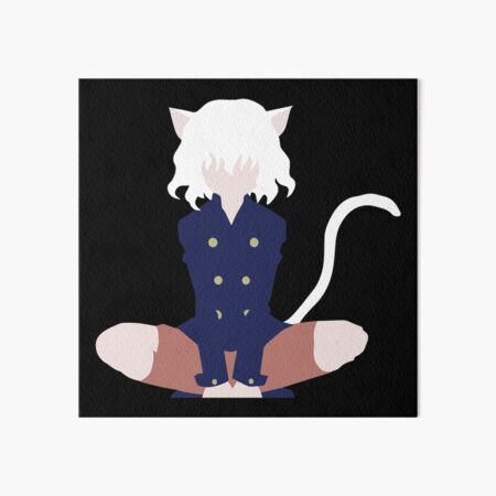 Neferpitou Inspired Anime Shirt Art Board Print