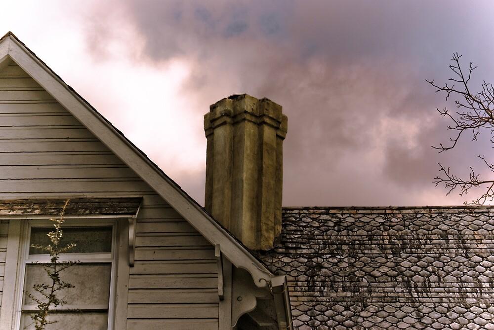 Chimney & Roof Line by Rod  Adams