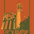 Notre-Dame de Fourvière - Lyon - France by nootrope
