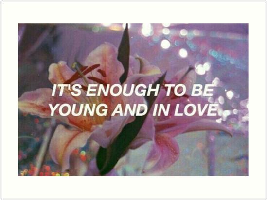Tumblr Lana Del Rey Lyrics Art Prints By Eliselle