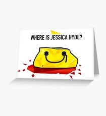 Utopia - Where Is Jessica Hyde? Greeting Card