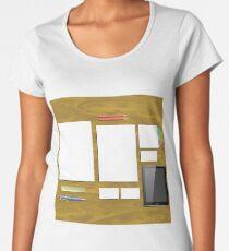 Office Supplies Womenu0027s Premium T Shirt