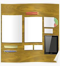 office supplies Poster