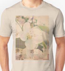 Pixel Flower Squares Unisex T-Shirt
