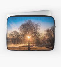 Willow Tree Sunrise Laptop Sleeve