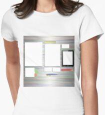 Office Supplies Womenu0027s Fitted T Shirt