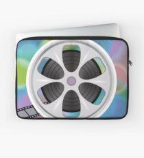 cinema film tape on disc Laptop Sleeve