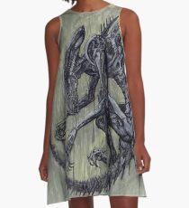 Xenomorph A-Line Dress
