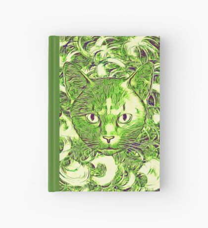 Hiding in fractal feathers Hardcover Journal