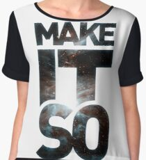 Make It So Chiffon Top