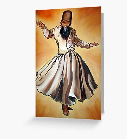 Semazen - Sufi Whirling Dervish Greeting Card