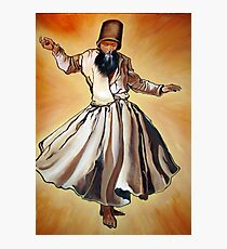 Semazen - Sufi Whirling Dervish Photographic Print