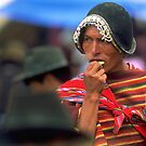 Coca leaf, Bolivia by Phillip  McCordall