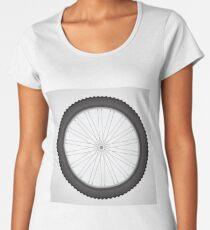 bike wheel Women's Premium T-Shirt