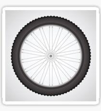 bike wheel Sticker