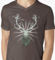 All-Natural Men's V-Neck T-Shirt