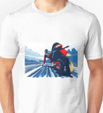 Motor racer speed demon Unisex T-Shirt