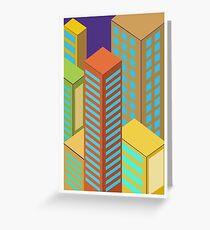 skyscraper  Greeting Card