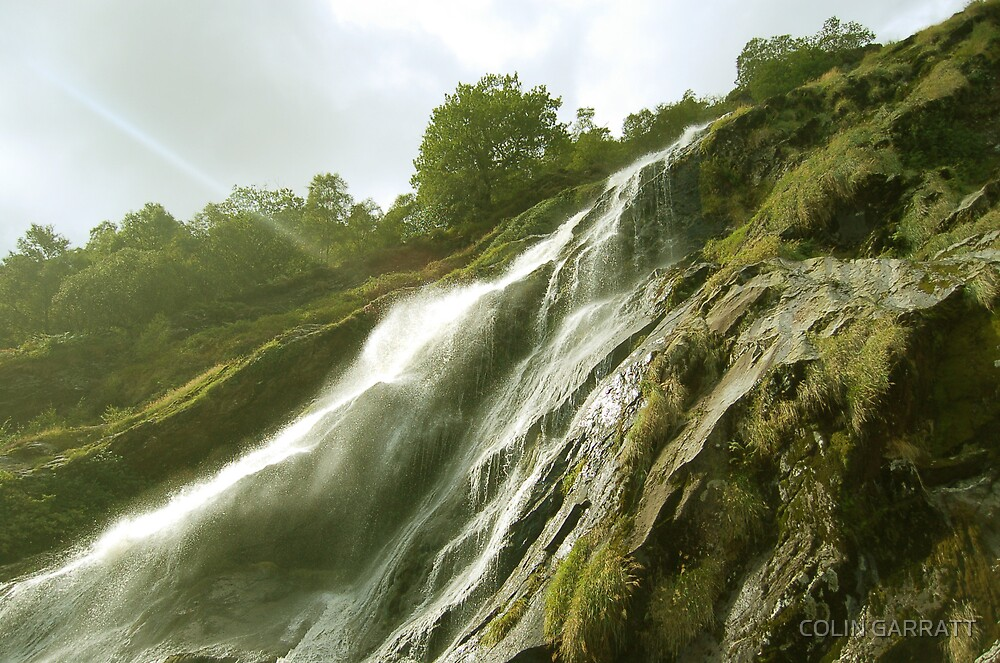waterfall by COLIN GARRATT