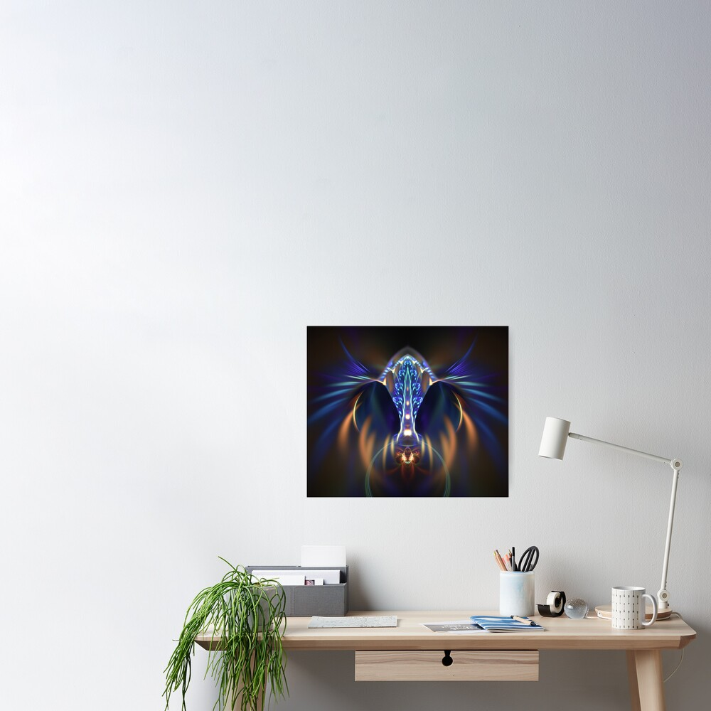 Extraterrestrial life #fractal art Poster