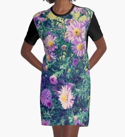 Dendranthema Graphic T-Shirt Dress