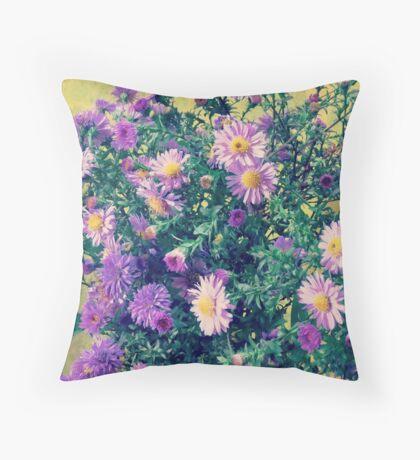 Dendranthema Throw Pillow
