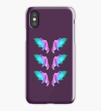 Wings #fractal art iPhone Case