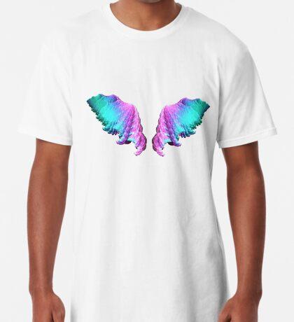 Wings #fractal art Long T-Shirt