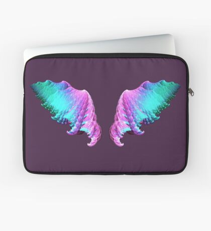 Wings #fractal art Laptop Sleeve