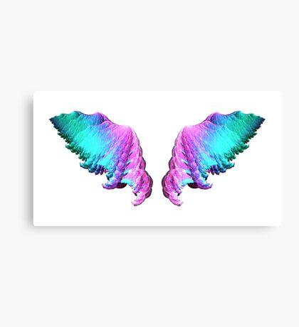 Wings #fractal art Canvas Print