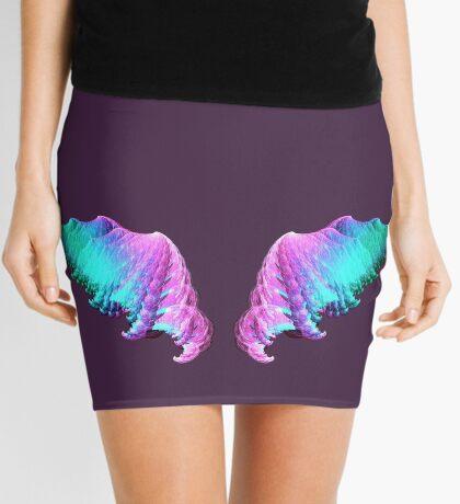 Wings #fractal art Mini Skirt
