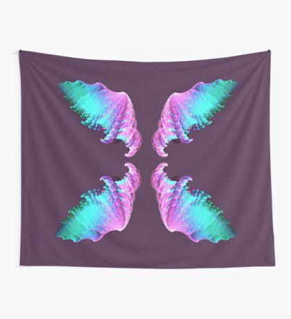 Wings #fractal art Wall Tapestry