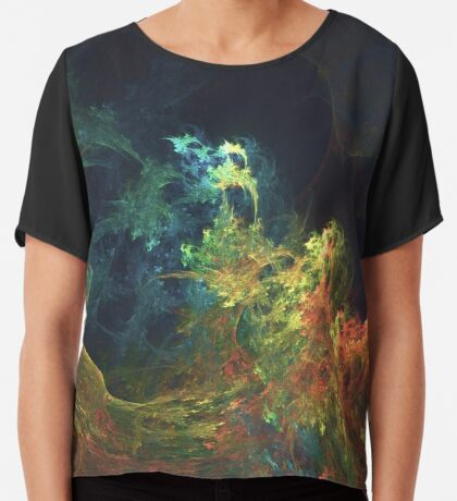 The Storm #fractal art Chiffon Top