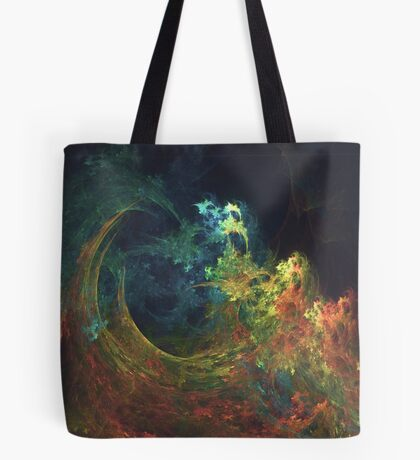 The Storm #fractal art Tote Bag