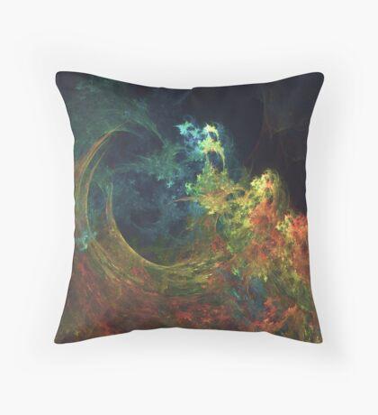 The Storm #fractal art Throw Pillow