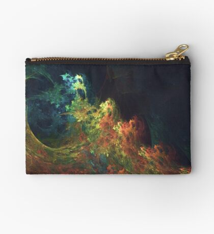 The Storm #fractal art Zipper Pouch