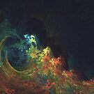 The Storm #fractal art by blackhalt