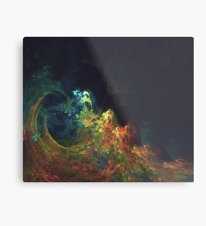 The Storm #fractal art Metal Print