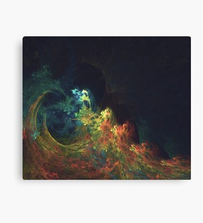 The Storm #fractal art Canvas Print