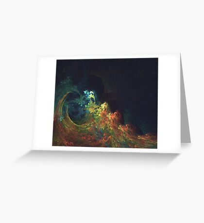 The Storm #fractal art Greeting Card