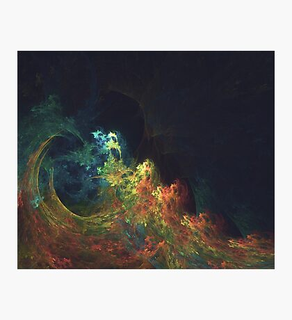 The Storm #fractal art Photographic Print