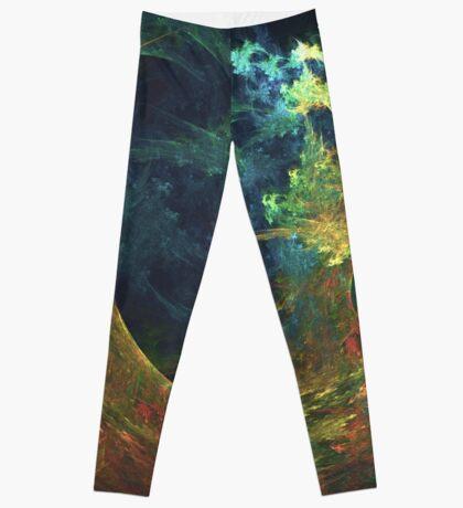 The Storm #fractal art Leggings