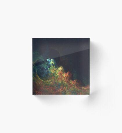 The Storm #fractal art Acrylic Block
