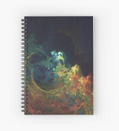 The Storm #fractal art Spiral Notebook