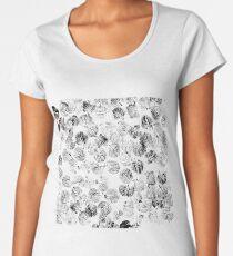 black foliage Women's Premium T-Shirt