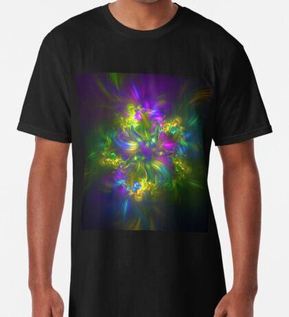 Five stars #fractals Long T-Shirt