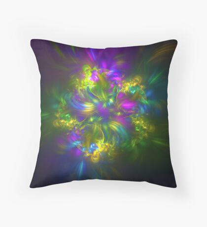 Five stars #fractals Throw Pillow
