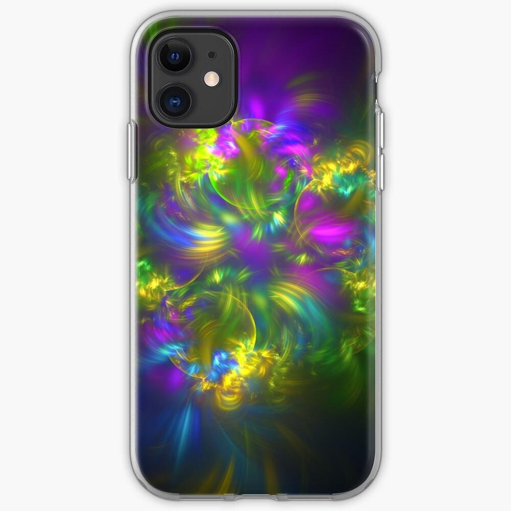 Five stars #fractals iPhone Case & Cover