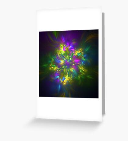 Five stars #fractals Greeting Card